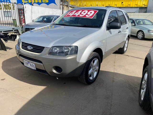 Used Ford Territory SY TX Maidstone, 2007 Ford Territory SY TX Silver 4 Speed Sports Automatic Wagon
