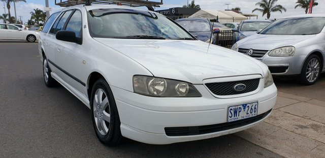 Used Ford Falcon BA XT Cheltenham, 2002 Ford Falcon BA XT White 4 Speed Sports Automatic Wagon