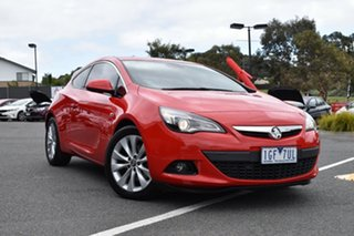 2015 Holden Astra PJ MY15.5 GTC Red/Black 6 Speed Automatic Hatchback.