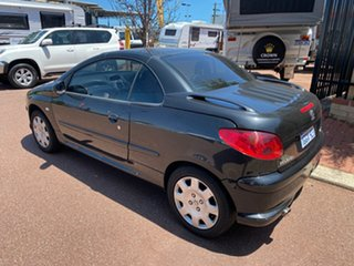 2005 Peugeot 206 Black 5 Speed Manual Coupe.