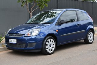 2006 Ford Fiesta WQ LX Blue 5 Speed Manual Hatchback.