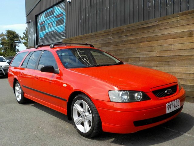 Used Ford Falcon BA XT Labrador, 2004 Ford Falcon BA XT Red 4 Speed Sports Automatic Wagon