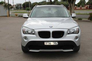 2012 BMW X1 E84 MY11 xDrive 20D Silver 6 Speed Automatic Wagon.