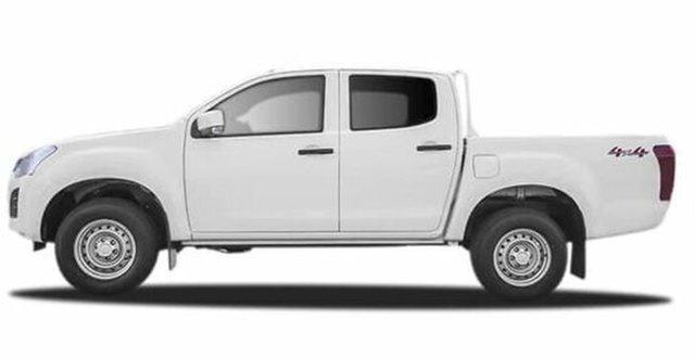 Used Isuzu D-MAX MY17 LS-M Crew Cab Launceston, 2017 Isuzu D-MAX MY17 LS-M Crew Cab White 6 Speed Sports Automatic Utility