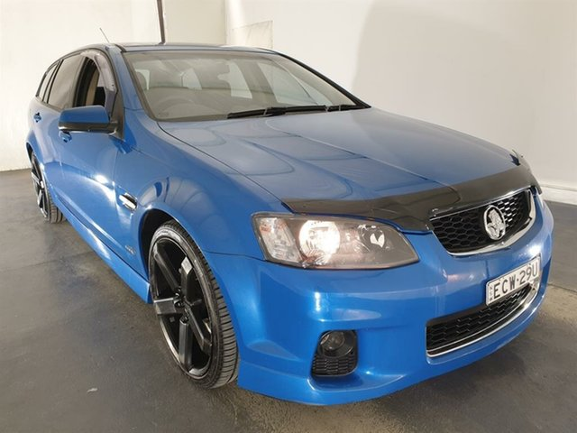 Used Holden Commodore VE II SV6 Sportwagon Maryville, 2011 Holden Commodore VE II SV6 Sportwagon Blue 6 Speed Sports Automatic Wagon