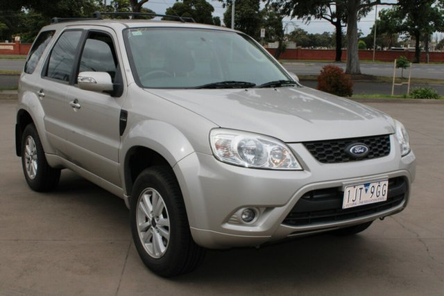 Used Ford Escape ZD West Footscray, 2010 Ford Escape ZD Gold 4 Speed Automatic Wagon