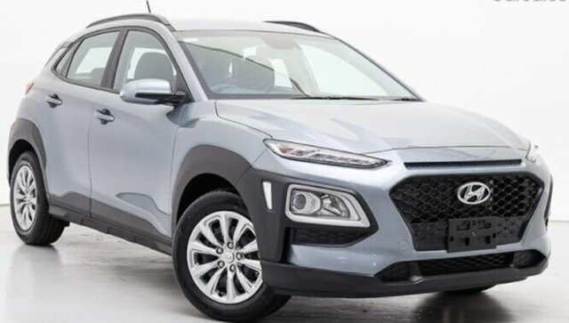 Used Hyundai Kona OS.3 MY20 Active D-CT AWD Launceston, 2020 Hyundai Kona OS.3 MY20 Active D-CT AWD Silver 7 Speed Sports Automatic Dual Clutch Wagon