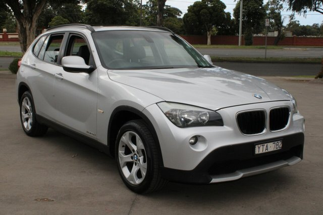 Used BMW X1 E84 MY11 xDrive 20D West Footscray, 2012 BMW X1 E84 MY11 xDrive 20D Silver 6 Speed Automatic Wagon