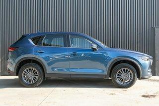 2020 Mazda CX-5 KF2W7A Maxx SKYACTIV-Drive FWD Sport Eternal Blue 6 Speed Sports Automatic Wagon.