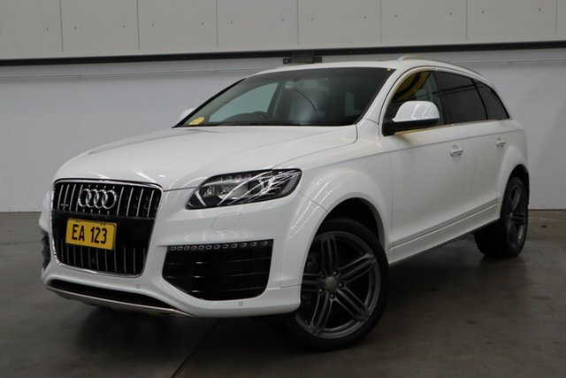 Used Audi Q7 4L MY15 TDI Tiptronic Quattro Castle Hill, 2015 Audi Q7 4L MY15 TDI Tiptronic Quattro White 8 Speed Sports Automatic Wagon