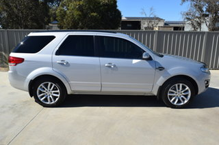 2014 Ford Territory SZ MkII TS Seq Sport Shift Silver 6 Speed Sports Automatic Wagon