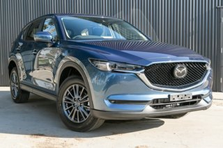 2020 Mazda CX-5 KF2W7A Maxx SKYACTIV-Drive FWD Sport Eternal Blue 6 Speed Sports Automatic Wagon