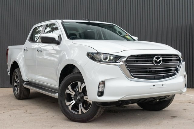 New Mazda BT-50 Mornington, 2020 Mazda BT-50 BT-50 B 6MAN 3.0L DUAL CAB PICKUP XTR 4X4 Ice White Crewcab
