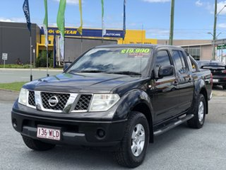 2010 Nissan Navara D40 ST Black 5 Speed Automatic Utility