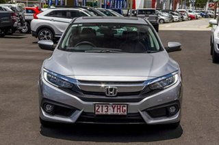 2018 Honda Civic 10th Gen MY18 VTi-LX Silver 1 Speed Constant Variable Sedan