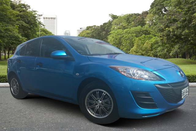 Used Mazda 3 BL10F1 Neo Paradise, 2010 Mazda 3 BL10F1 Neo Blue 6 Speed Manual Hatchback