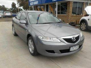 2005 Mazda 6 GY Classic Grey 4 Speed Auto Activematic Wagon.