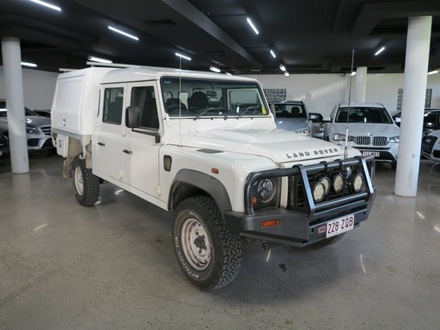 Used Land Rover Defender 130 11MY Standard Albion, 2010 Land Rover Defender 130 11MY Standard White 6 Speed Manual Cab Chassis