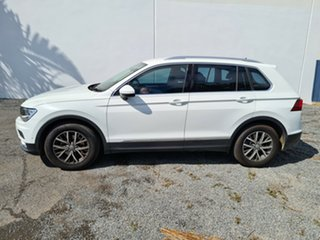 2016 Volkswagen Tiguan 5N MY17 110TSI DSG 2WD Comfortline White 6 Speed Sports Automatic Dual Clutch.