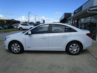 2011 Holden Cruze JH Series II MY11 CD White 6 Speed Sports Automatic Sedan