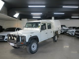 2010 Land Rover Defender 130 11MY Standard White 6 Speed Manual Cab Chassis.