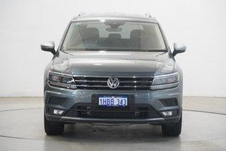 2019 Volkswagen Tiguan 5N MY20 110TSI Comfortline DSG 2WD Allspace Platinum Grey 6 Speed.