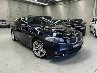 2013 BMW 5 Series F10 LCI 520d Steptronic M Sport Black 8 Speed Sports Automatic Sedan.