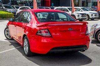 2011 Ford Falcon FG XR6 Red 6 Speed Sports Automatic Sedan.