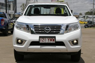 2018 Nissan Navara D23 S3 RX 4x2 Polar White 6 Speed Manual Cab Chassis