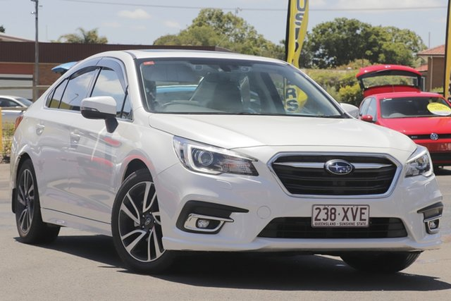 Used Subaru Liberty B6 MY18 2.5i CVT AWD Premium Toowoomba, 2018 Subaru Liberty B6 MY18 2.5i CVT AWD Premium White 6 Speed Constant Variable Sedan
