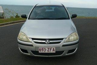 2004 Holden Barina XC MY05 Silver 4 Speed Automatic Hatchback