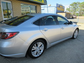 2008 Mazda 6 GH Luxury Silver 5 Speed Automatic Hatchback