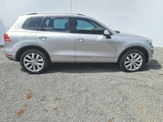 2015 Volkswagen Touareg 7P MY15 V6 TDI Tiptronic 4MOTION Silver 8 Speed Sports Automatic Wagon.