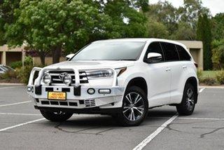 2017 Toyota Kluger GSU55R GX AWD White 8 Speed Sports Automatic Wagon.