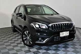 2019 Suzuki S-Cross JY Turbo Prestige Cosmic Black 6 Speed Sports Automatic Hatchback