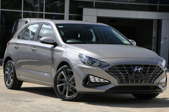 New Hyundai i30 PD.V4 MY21 Active Beaudesert, 2020 Hyundai i30 PD.V4 MY21 Active Fluidic Metal 6 Speed Sports Automatic Hatchback