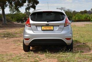 2013 Ford Fiesta WZ Ambiente Silver 5 Speed Manual Hatchback