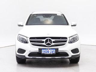 2017 Mercedes-Benz GLC250D 253 MY17 White 9 Speed Automatic Wagon.