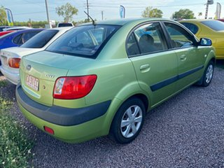 2006 Kia Rio JB Green 5 Speed Manual Sedan.