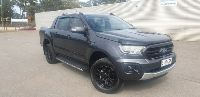Used Ford Ranger PX MkIII 2020.75MY Wildtrak Elizabeth, 2020 Ford Ranger PX MkIII 2020.75MY Wildtrak Grey 10 Speed Sports Automatic Double Cab Pick Up
