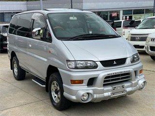2002 Mitsubishi Delica PD6W Limited 20th Anniversary Silver Sports Automatic Van Wagon.