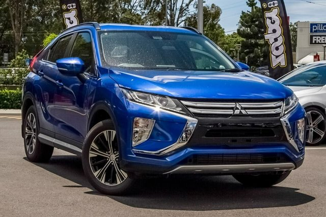 Used Mitsubishi Eclipse Cross YA MY19 ES 2WD Aspley, 2018 Mitsubishi Eclipse Cross YA MY19 ES 2WD Lightning Blue 8 Speed Constant Variable Wagon