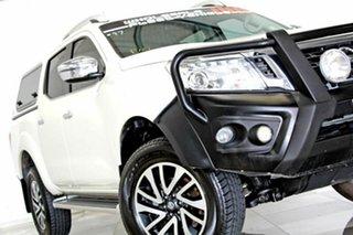 2017 Nissan Navara D23 Series II ST-X (4x2) White 7 Speed Automatic Dual Cab Utility.