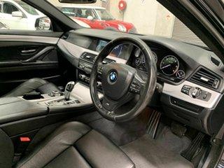 2013 BMW 5 Series F10 LCI 520d Steptronic M Sport Black 8 Speed Sports Automatic Sedan