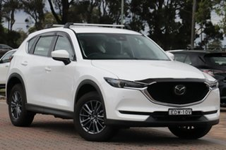 2019 Mazda CX-5 KF4WLA Touring SKYACTIV-Drive i-ACTIV AWD Aqua 6 Speed Sports Automatic SUV.