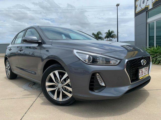 Used Hyundai i30 PD2 MY20 Active Townsville, 2019 Hyundai i30 PD2 MY20 Active Grey 6 Speed Sports Automatic Hatchback