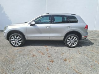 2015 Volkswagen Touareg 7P MY15 V6 TDI Tiptronic 4MOTION Silver 8 Speed Sports Automatic Wagon