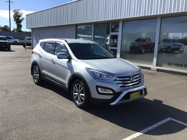 Used Hyundai Santa Fe DM MY13 Elite Cardiff, 2013 Hyundai Santa Fe DM MY13 Elite Silver 6 Speed Sports Automatic Wagon