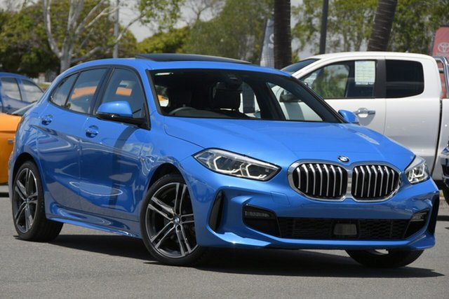 Used BMW 1 Series F40 118i DCT M Sport North Lakes, 2019 BMW 1 Series F40 118i DCT M Sport Blue 7 Speed Sports Automatic Dual Clutch Hatchback
