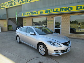 2008 Mazda 6 GH Luxury Silver 5 Speed Automatic Hatchback.